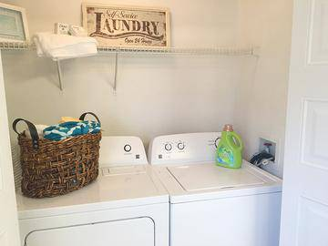 Laundry Room - Springwood Townhomes - Tallahassee, FL