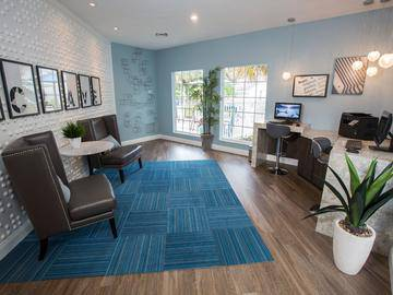 Community Business Center - The Enclave at Huntington Woods - Tallahassee, FL