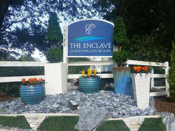 Front Sign - The Enclave at Huntington Woods - Tallahassee, FL