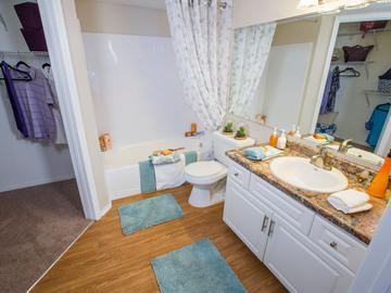 Bathroom - The Oasis at 1800 - Tallahassee, FL