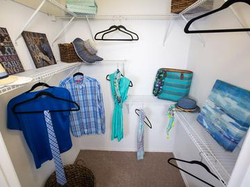 Walk-In Closet - The Oasis at 1800 - Tallahassee, FL