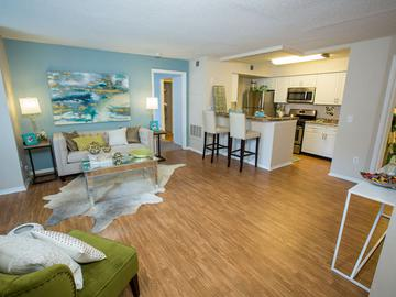 Living Room - The Oasis at 1800 - Tallahassee, FL