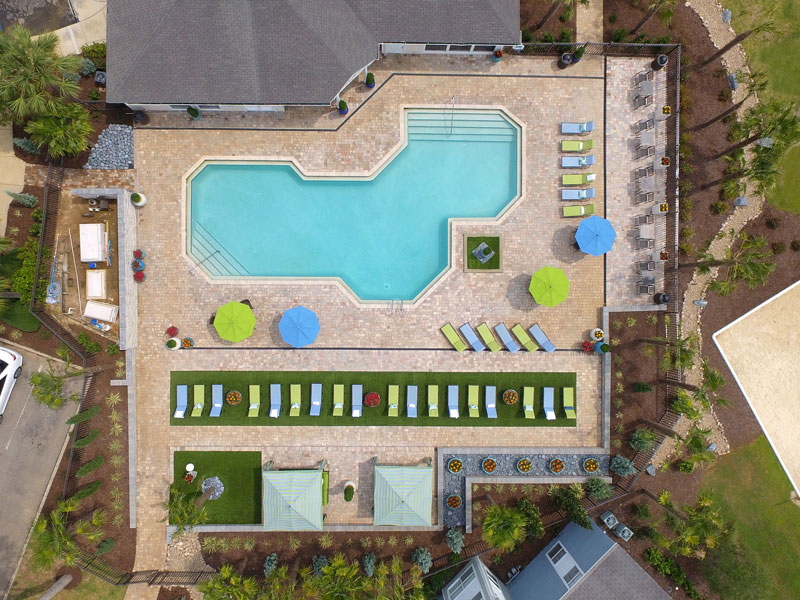 Resort-Style Pool with Sundeck