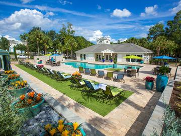 Poolside Loungers - The Oasis at 1800 - Tallahassee, FL