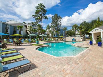 Resort Style Swimming Pool - The Oasis at 1800 - Tallahassee, FL