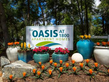 Front Sign - The Oasis at 1800 - Tallahassee, FL