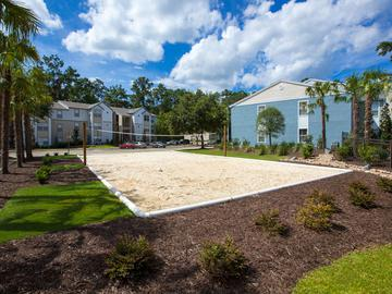 Sand Volleyball Court - The Oasis at 1800 - Tallahassee, FL