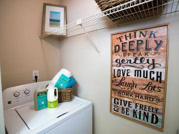 Laundry Room - Allister Place - Tampa, FL