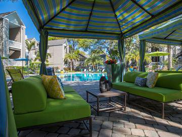 Poolside Cabana - Allister Place - Tampa, FL
