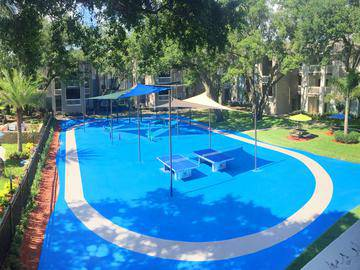 Outdoor Gym/Sports Court - Allister Place - Tampa, FL