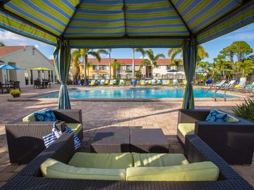 Poolside Cabanas - Amber Lakes - Winter Park, FL