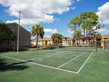 Tennis Court - Amber Lakes - Winter Park, FL