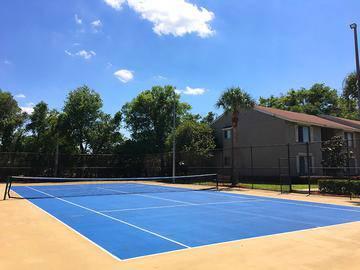 Tennis Court - Amber Lakes - Winter Park, FL