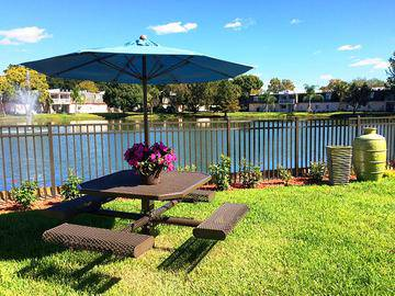 Picnic Tables - The Lexington at Winter Park - Winter Park, FL