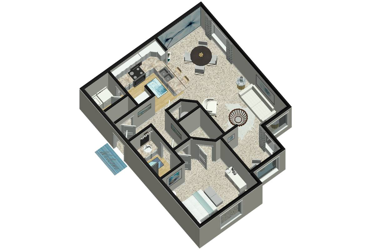 The Fox - 1 Bedroom / 1 Bathroom Image