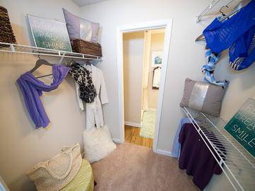 Walk-In Closet - Village West at Peachtree Corners - Norcross, GA