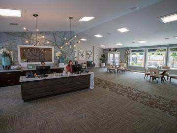 Leasing Office Interior - Village West at Peachtree Corners - Norcross, GA
