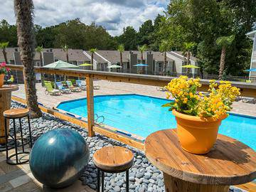 Poolside Tables - Village West at Peachtree Corners - Norcross, GA