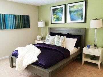 Master Bedroom - Village West at Peachtree Corners - Norcross, GA