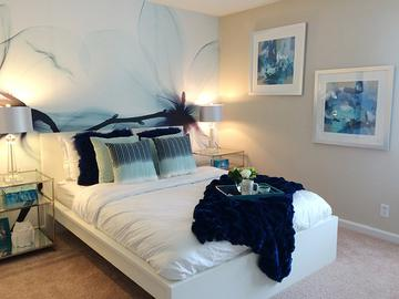 Bedroom - Village West at Peachtree Corners - Norcross, GA