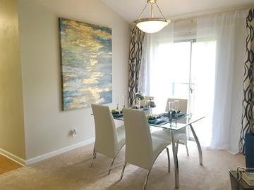 Dining Room - Village West at Peachtree Corners - Norcross, GA