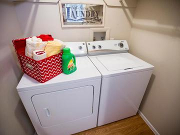 Laundry Room - Village West at Peachtree Corners - Norcross, GA