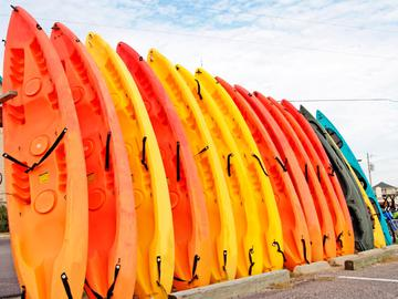 Free Kayak Rentals - The Lake House at Martins Landing - Roswell, GA