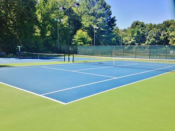 Tennis Court - The Lake House at Martins Landing - Roswell, GA