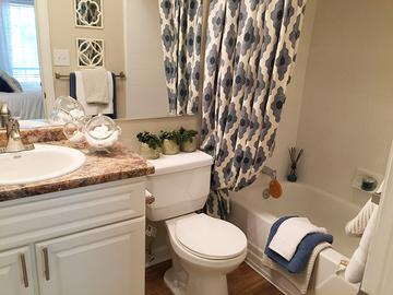 Master Bathroom - The Lake House at Martins Landing - Roswell, GA