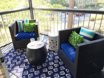 Patio/Balcony - The Lake House at Martins Landing - Roswell, GA