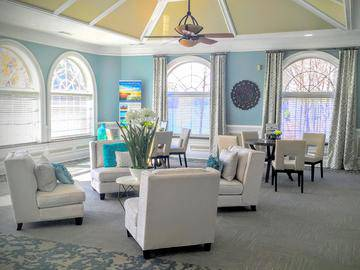 Clubhouse Interior - The Lake House at Martins Landing - Roswell, GA