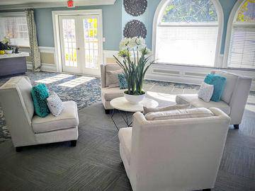 Leasing Office Interior - The Lake House at Martins Landing - Roswell, GA