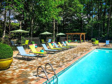 Expansive Sundeck - The Lake House at Martins Landing - Roswell, GA