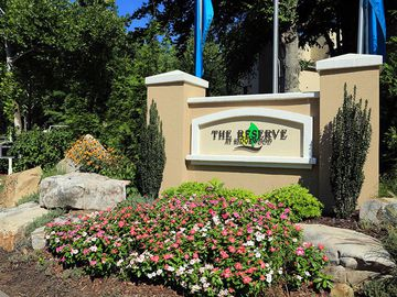 Front Entrance Sign - The Reserve at Ridgewood - Sandy Springs, GA