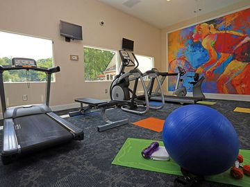 Fitness Center - The Reserve at Ridgewood - Sandy Springs, GA