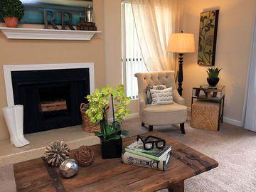 Living Room - The Reserve at Ridgewood - Sandy Springs, GA