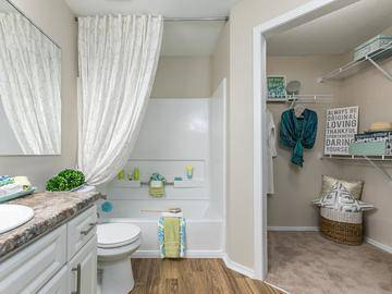 Master Bath with Walk-In Closet - Avenue 33 - Stockbridge, GA