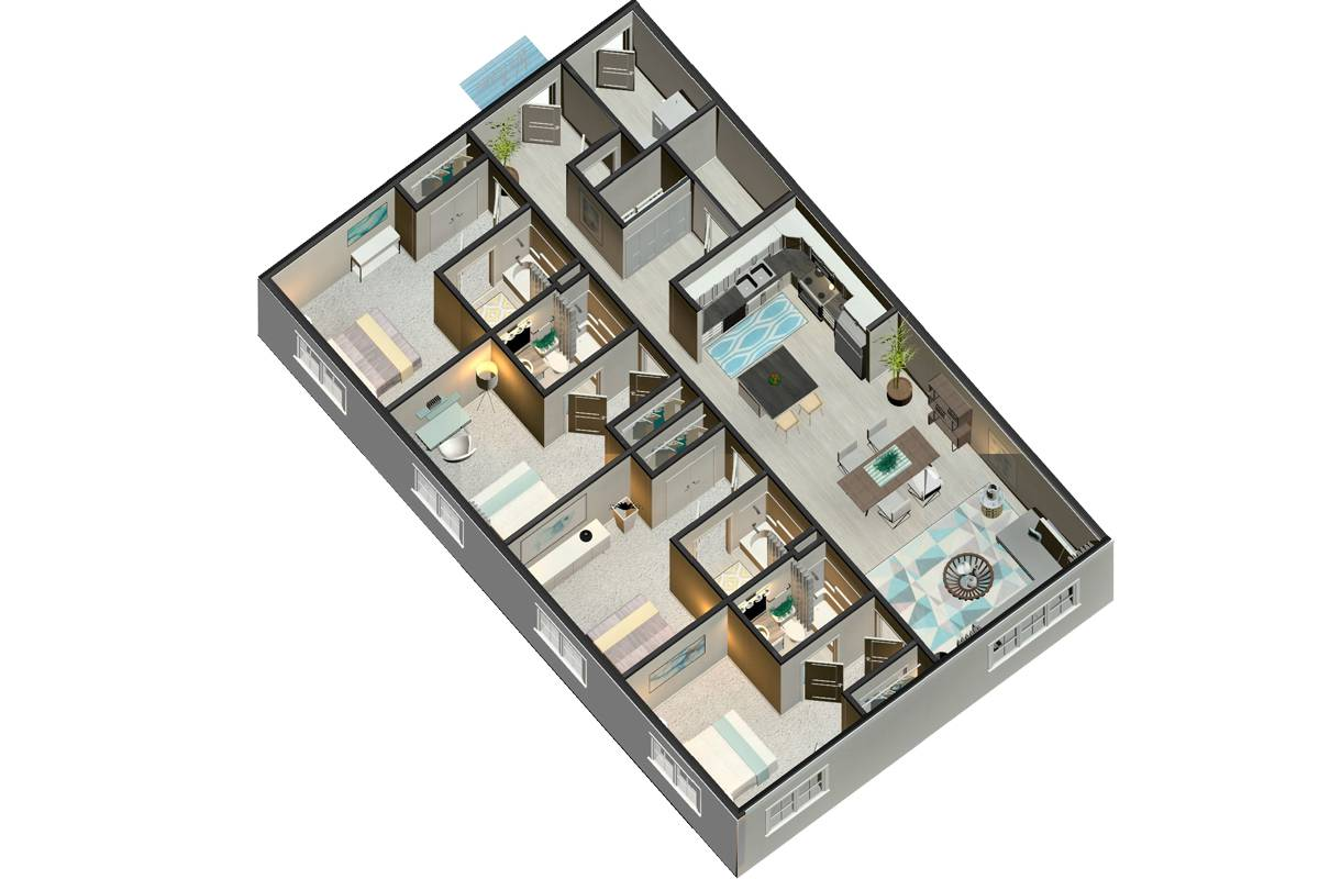 New Floor Plan Coming Soon - 4 Bedroom / 4 Bathroom Image