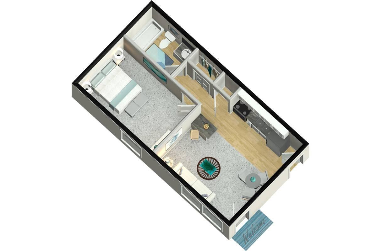 The Dickenson - 1 Bedroom / 1 Bathroom Image