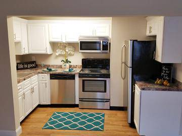 First Floor 1 Bedroom Kitchen - Edgewood Court - Chicopee, MA