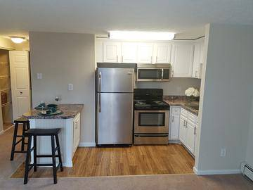 Second Floor 1 Bedroom Kitchen - Edgewood Court - Chicopee, MA