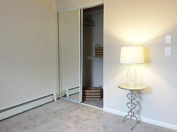 Sliding Mirror Closets - Edgewood Court - Chicopee, MA
