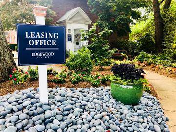 Leasing Office Exterior - Edgewood Court - Chicopee, MA