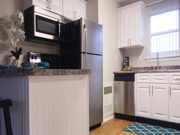 Updated Kitchen - Edgewood Court - Chicopee, MA