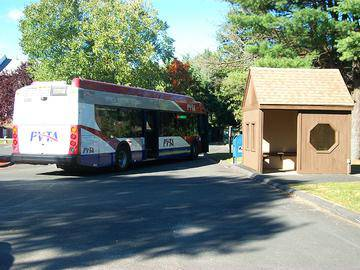 PVTA Bus Route - Sugarloaf Estates - Sunderland, MA
