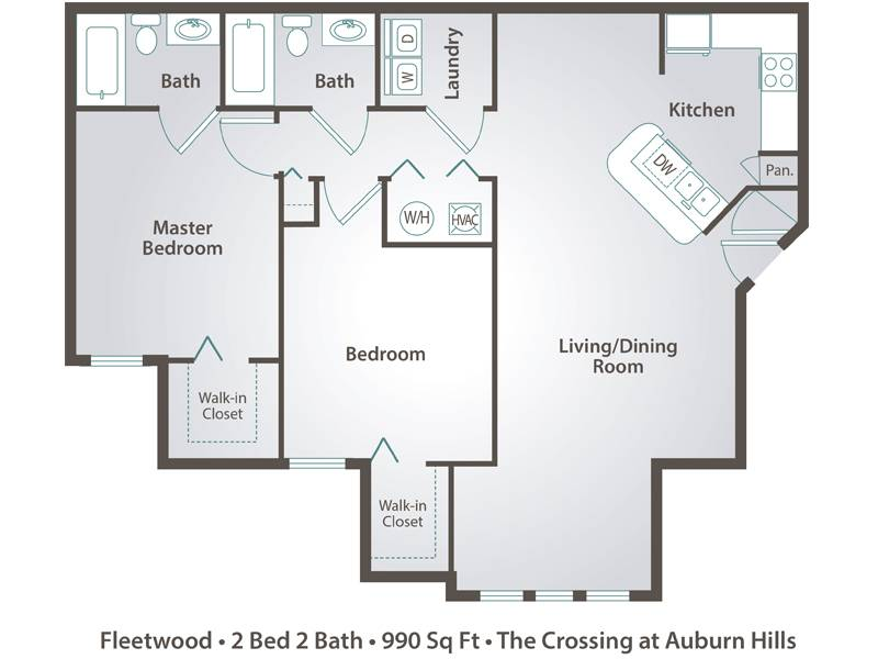 Fleetwood - 2 Bedroom / 2 Bathroom Image