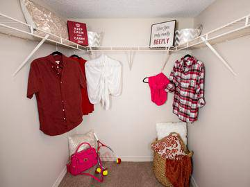 Walk-In Closet - Crossing At Auburn Hills - Pontiac, MI