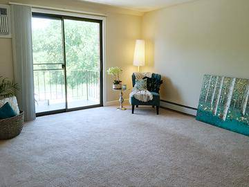 Living Room - Brookstone Manor - Milford, NH
