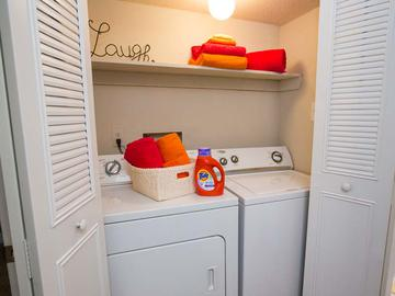 Full Size Washer and Dryers - Berkshire Manor West - Carrboro, NC