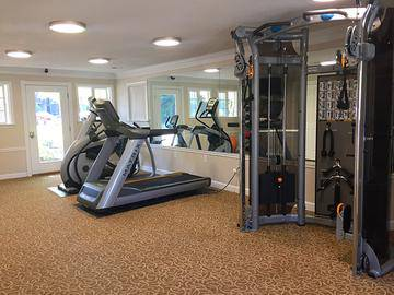 Fitness Center - Berkshire Manor West - Carrboro, NC
